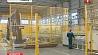 """На предприятии """"Гомельстекло"""" ввели новую линию по производству стекла с покрытием На прадпрыемстве """"Гомельшкло"""" ўвялі новую лінію па вытворчасці шкла з пакрыццём Gomelglass company introduces new line for coated glass production"""