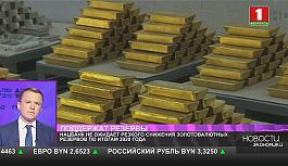 Нацбанк не ожидает резкого снижения золотовалютных резервов по итогам 2020 года