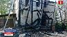 Пожар в Березинском районе Пажар у Бярэзінскім раёне