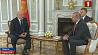 Перспективы сотрудничества  Александр Лукашенко  обсудил с премьер-министром Грузии