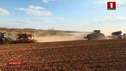 Белорусские аграрии планируют завершить посевную кампанию до 15 мая Беларускія аграрыі плануюць завяршыць пасяўную кампанію да 15 мая Belarusian farmers plan to complete sowing campaign before May 15