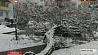 В Минской области сегодня продолжали ликвидировать последствия сильных снегопадов У Мінскай вобласці сёння працягвалі ліквідацыю наступстваў моцных снегападаў