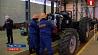 """В Уфе собрали первый трактор """"Беларус-1221""""  Ва Уфе сабралі першы трактар """"Беларус-1221"""" First tractor Belarus-1221 of  third modification assembled in Ufa"""