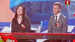 Гости студии - лауреаты спецфонда Президента по поддержке талантливой молодежи Михаил Волчков и Полина Черневская
