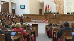 Обращение Президента Республики Беларусь А.Г.Лукашенко к депутатам Палаты представителей и членам Совета Республики Национального собрания Республики Беларусь пятого и шестого созывов  (телеверсия)