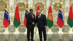 Церемония официальной встречи Президентом Республики Беларусь Александром Лукашенко Президента Боливарианской Республики Венесуэла Николаса Мадуро