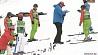 Раубичи сегодня принимают этап Кубка мира по фристайлу Раўбічы сёння прымаюць этап Кубка свету па фрыстайле Freestyle Ski World Cup to launch in Raubichi today