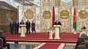 """Александр Лукашенко: """"Умная нация на такие реформы не пойдет"""" Аляксандр Лукашэнка: """"Разумная нацыя на такія рэформы не пойдзе"""" Alexander Lukashenko: Peace and order in our land is the highest value"""