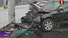 Серьезная авария на Кальварийской - столкнулись 3 автомобиля