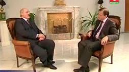 "Телеверсия интервью Президента Республики Беларусь Александра Лукашенко телеканалу ""Россия""."