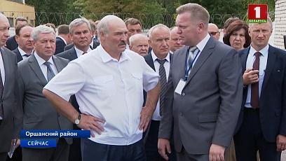 Президент раскритиковал работу Оршанского инструментального завода и дал ряд жестких поручений