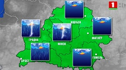 Прогноз погоды на 6 июня Прагноз надвор'я на 6 чэрвеня