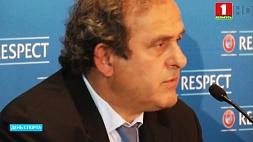 Бывшего президента УЕФА Мишеля Платини арестовали по подозрению в коррупции Былога прэзідэнта УЕФА Мішэля Плаціні арыштавалі па падазрэнні ў карупцыі