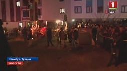 Военный вертолет рухнул  в жилом квартале Стамбула Ваенны верталёт упаў у жылым квартале Стамбула