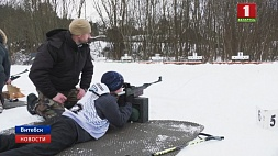 "В Могилеве и Гомеле сегодня соберутся любители биатлона. Там пройдет ""Снежный снайпер"" У Магілёве і Гомелі сёння збяруцца аматары біятлона. Там пройдзе ""Снежны снайпер"""