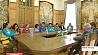 Возможность получения высшего образования в БГУ презентовали для юных гостей из Китая Магчымасць атрымання вышэйшай адукацыі ў БДУ прэзентавалі для юных гасцей з Кітая