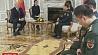 Президент Беларуси встретился с министром обороны Китая  Прэзідэнт Беларусі сустрэўся з міністрам абароны Кітая  Belarus President meets with Chinese defense minister