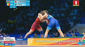 Женская борьба. Белорусы сражаются за два золота Жаночая барацьба. Беларусы змагаюцца за два залатыя медалі