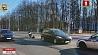 Сегодня в Минске столкнулись мотоцикл и авто