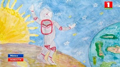 Космический урок сегодня прошел в столичной гимназии № 1