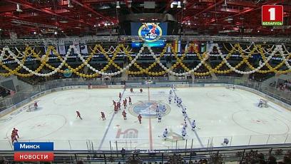 Состоялось торжественное открытие XV Рождественского международного турнира любителей хоккея