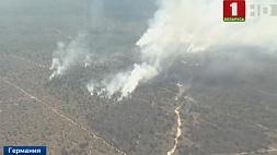 Масштабные природные пожары пылают на востоке Германии Маштабныя прыродныя пажары палаюць на ўсходзе Германіі