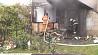 Короткое замыкание электропроводки стало причиной пожара Кароткае замыканне электраправодкі стала прычынай пажару