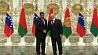 Церемония официальной встречи Президентом Беларуси Александром Лукашенко Президента Венесуэлы Николаса Мадуро