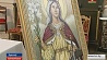В Будславе грандиозный праздник в честь новообретенной духовной реликвии  У Будславе грандыёзнае свята ў гонар новаздабытай духоўнай рэліквіі
