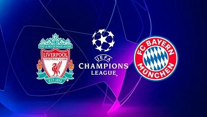 """Футбол. Лига чемпионов. 1/8 финала.  """"Ливерпуль"""" - """"Бавария"""" 0:0"""
