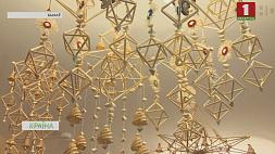 Самую большую коллекцию соломенных пауков собрали юные таланты Быхова Самую вялікю калекцыю саламяных павукоў сабралі юныя таленты Быхава