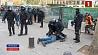В Каталонии антиправительственные акции привели к столкновениям с полицией У Каталоніі антыўрадавыя акцыі прывялі да сутыкненняў з паліцыяй