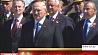 Александр Лукашенко возложил венок к монументу Победы в Минске Аляксандр Лукашэнка ўсклаў вянок да манумента Перамогі ў Мінску Alexander Lukashenko lays wreath at Victory Monument in Minsk