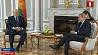 Президент встретился с комиссаром по европейской политике соседства Йоханнесом Ханом Прэзідэнт сустрэўся з камісарам па еўрапейскай палітыцы суседства Alexander Lukashenko meets with European Commissioner Johannes Hahn