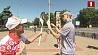 Огонь II Европейских игр встретили в Гомеле Агонь II Еўрапейскіх гульняў сустрэлі ў Гомелі  Fire of II European Games welcomed in Gomel