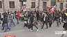 Тысячи человек вышли накануне  на улицы европейских столиц Тысячы чалавек выйшлі напярэдадні  на вуліцы еўрапейскіх сталіц
