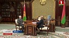 Александр Лукашенко провел встречу с Марианной Щеткиной  Аляксандр Лукашэнка правёў сустрэчу з Мар'янай Шчоткінай  Alexander Lukashenko meets with Marianna Shchetkina