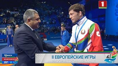 Саслан Дауров завоевал бронзовую медаль II Европейских игр в греко-римской борьбе