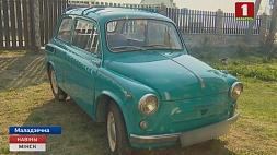 Житель Молодечно приобрел ретроавтомобиль 1967 года выпуска и восстановил его Жыхар Маладзечна набыў рэтрааўтамабіль 67 года выпуску і аднавіў яго