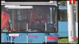 В Витебске выбрали лучшего водителя троллейбуса У Віцебску выбралі лепшага вадзіцеля тралейбуса