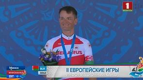 Золотой двукратно! Василий Кириенко выиграл гонку с раздельным стартом  в Минске