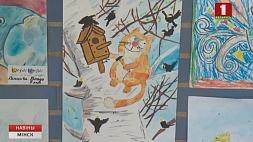 Международная выставка детского рисунка прошла в столичном Дворце детей и молодежи  Міжнародная выстава дзіцячага малюнка прайшла ў сталічным Палацы дзяцей і моладзі