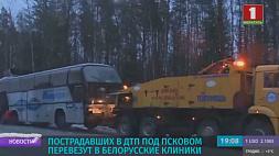 Автобус с белорусами в Псковской области мог перевернуться из-за плохих погодных условий Аўтобус з беларусамі ў Пскоўскай вобласці мог перавярнуцца з-за дрэнных умоў надвор'я