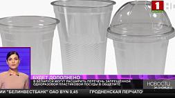 В Беларуси могут расширить перечень запрещенной одноразовой пластиковой посуды в общепите