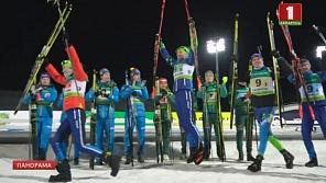 В Раубичах на  чемпионате Европы по биатлону состоялись спринтерские гонки