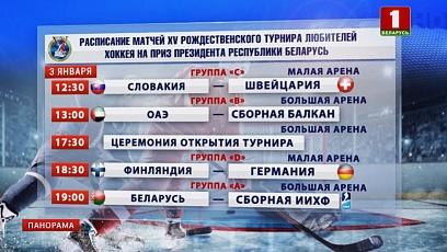 Минск вновь станет столицей международных ледовых баталий