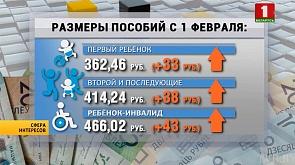 В связи с изменением БПМ с 1 февраля пересчитали социальные выплаты