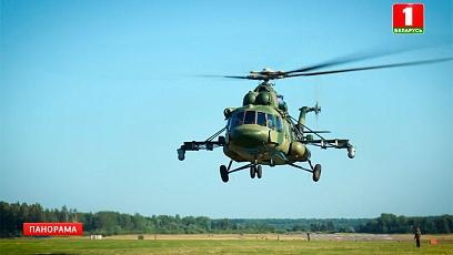 Техника парада. Вертолет Ми-8