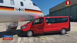 В самолет Ангелы Меркель врезался неуправляемый автомобиль У самалёт Ангелы  Меркель урэзаўся некіруемы  аўтамабіль