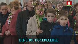 Вербное воскресенье празднуют католики Вербніцу святкуюць католікі